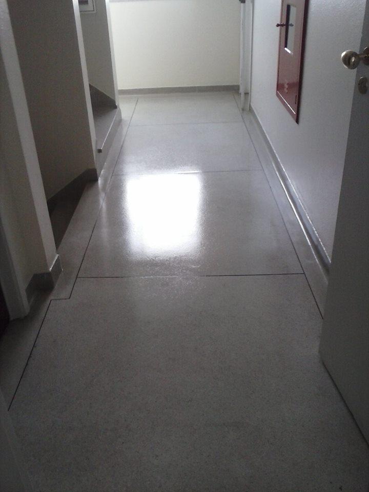 Limpeza e impermeabilização de pisos e pedras